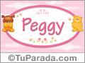 Nombre para bebé, Peggy