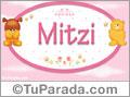 Mitzi - Nombre para bebé