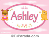 Ashley - Nombre para bebé