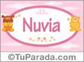 Nombre para bebé, Nuvia