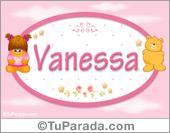 Vanessa - Nombre para bebé