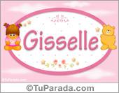 Gisselle - Nombre para bebé