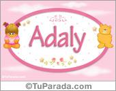 Adaly - Nombre para bebé