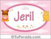 Jeril - Nombre para bebé