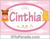 Cinthia - Nombre para bebé