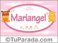 Nombre para bebé, Mariangel