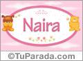 Nombre para bebé, Naira