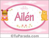 Ailén - Nombre para bebé