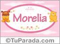 Nombre para bebé, Morelia