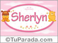 Nombre para bebé, Sherlyn