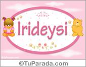 Irideysi - Nombre para bebé