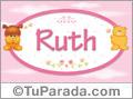 Nombre para bebé, Ruth