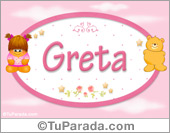 Greta - Nombre para bebé