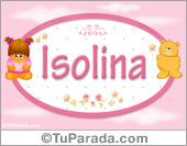 Isolina - Nombre para bebé