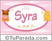 Syra - Nombre para bebé