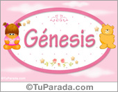 Génesis - Nombre para bebé
