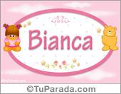 Bianca - Nombre para bebé