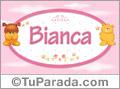 Nombre para bebé, Bianca