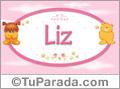 Nombre para bebé, Liz