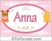 Anna - Nombre para bebé