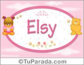 Elsy - Nombre para bebé