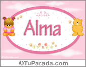 Alma - Nombre para bebé