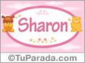 Nombre para bebé, Sharon