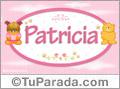 Nombre para bebé, Patricia