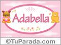 Adabella - Nombre para bebé