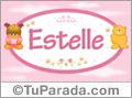 Estelle - Nombre para bebé