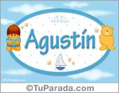 Agustín - Nombre para bebé