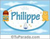 Philippe - Nombre para bebé