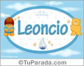 Leoncio - Nombre para bebé