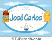 José Carlos - Nombre para bebé