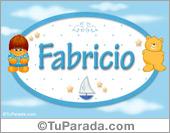 Fabrizio - Con personajes