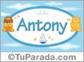 Antony - Con personajes