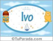 Ivo - Nombre para bebé