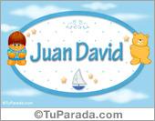 Juan David - Nombre para bebé
