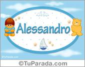 Alessandro - Con personajes