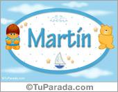 Martín - Nombre para bebé