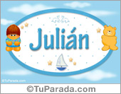 Julián - Nombre para bebé