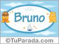 Bruno - Con personajes