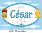 César - Nombre para bebé