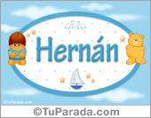 Hernan - Nombre para bebé