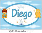 Diego - Con personajes