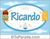 Ricardo - Con personajes