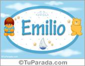 Emilio - Nombre para bebé