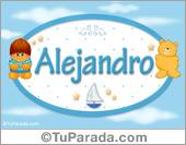 Alejandro - Con personajes