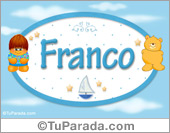 Franco - Nombre para bebé