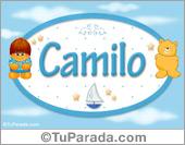 Camilo - Nombre para bebé